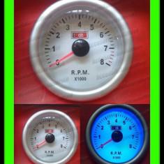 TUROMETRU AUTO 8000RPM Plasma Ceas Suplimentar - Ceas Auto