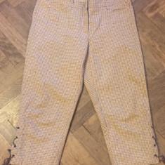 Pantaloni dama MAX MARA WEEKEND, Marime: Alta, Culoare: Din imagine, Trei-sferturi, Bumbac