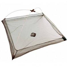 HALAU Crâsnic KX017 cu plasa deasa - dimensiuni: 100x100 cm. - Juvelnic pescuit