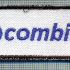 288 -EMBLEMA -SIG COMBIBLOC-INSTALATII DE IMBUTELIAT LICHIDE-starea care se vede - Uniforma militara