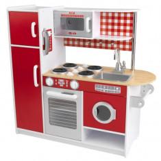 Bucatarie Super Chef Kidkraft bucatarii din lemn de joaca pentru copii fetite