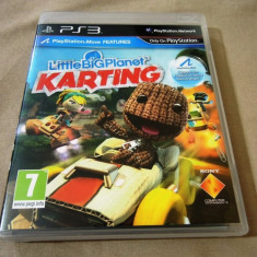Joc Little Big Planet Karting, PS3, original, alte sute de jocuri!, Actiune, 12+, Single player, Sony