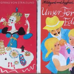 Carti copii in limba germana - Unser Ferkel Eduard + Die Jungfrau von Stralsund - Carte educativa