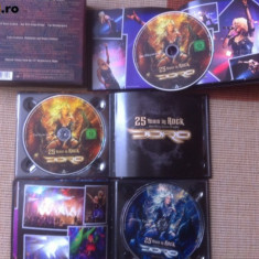 Doro Pesch 25 Years In Rock And Still Going Strong muzica heavy metal cd si dvd
