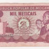 bnk bn Mozambic 1000 meticais 1980 circulata