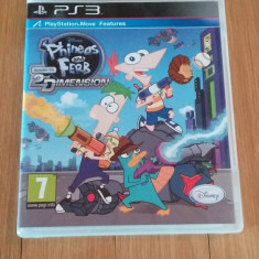 JOC PS3 PHINEAS AND FERB ACROSS THE 2nd DIMENSION ORIGINAL / by WADDER - Jocuri PS3 Altele, Actiune, 3+, Multiplayer