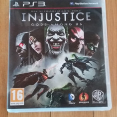JOC PS3 inJUSTICE GODS AMOUNG US ORIGINAL / by WADDER - Jocuri PS3 Altele, Sporturi, 16+, Multiplayer