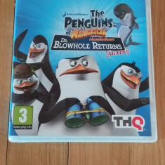 JOC PS3 THE PENGUINS OF MADAGASCAR DR. BLOWHOLE RETURNS ORIGINAL / by WADDER - Jocuri PS3 Thq, Actiune, 3+, Single player
