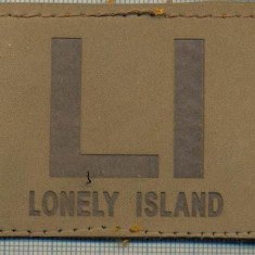 297 -EMBLEMA - LI LONELY ISLAND -starea care se vede