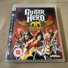 Joc Guitar Hero Aerosmith, PS3, original, alte sute de jocuri! - Jocuri PS3 Activision, Simulatoare, 12+, Single player