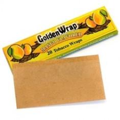 Foite Golden wrap MANGO pentru rulat tutun / tigari - Foite tigari