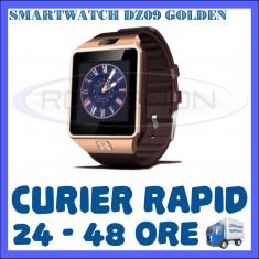CEAS Smartwatch 4P-Touch DZ09 AURIU - CU FUNCTIE GSM TELEFON, TOUCHSCREEN - GARANTIE 1 AN, Alte materiale, Tizen Wear