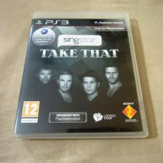 Joc SingStar Take That, PS3, original, alte sute de jocuri! - Jocuri PS3 Sony, Simulatoare, 12+, Single player