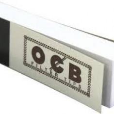 FILTER TIPS OCB ALB pentru rulat tutun / tigari - Foite tigari
