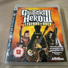 Joc Guitar Hero III Legends of Rock, PS3, original, alte sute de jocuri! - Jocuri PS3 Activision, Simulatoare, 12+, Single player