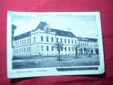 Ilustrata Reghinul Sasesc - Judecatoria de Ocol, cca. 1918, pata pe colt