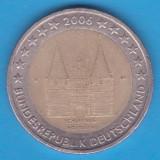 (M852) MONEDA 2 EURO 2006 - GERMANIA, LIT. D - SCHLESWIG-HOLSTEIN, Europa