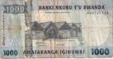 RWANDA RUANDA 1000 Francs 2008 F