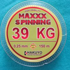 Fir textil galben-hakuyo-150 M-fir pescuit -