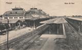 PLOIESTI , GARA DE SUD , CIRC. 1943 , STAMPILA CENZURAT BUZAU 7 , ED. IOAN DRAGU, Circulata, Printata