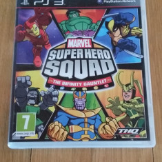JOC PS3 MARVEL SUPER HERO SQUAD THE INFINITY GAUNTLET ORIGINAL / by WADDER - Jocuri PS3 Thq, Actiune, 3+, Multiplayer