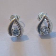 Cercei argint zirconii - 404