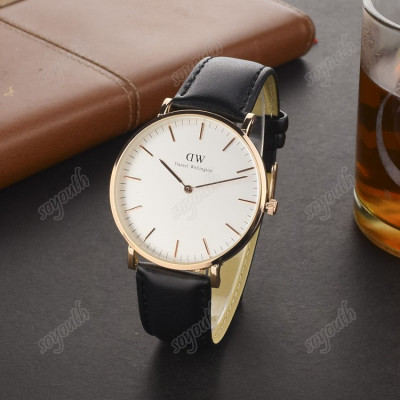 Ceas Barbati Business Casual Fashion Daniel Wellington DW QUARTZ Nou CALITATE foto