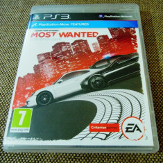 Joc NFS Most Wanted, PS3, original, alte sute de jocuri! - Jocuri PS3 Electronic Arts, Curse auto-moto, 3+, Single player
