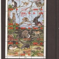 Liberia - fauna - 1564/75 klbg, An: 1993, Natura, Africa