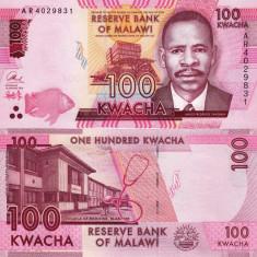 MALAWI 100 kwacha 2014 UNC!!! - bancnota africa