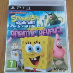 JOC PS3 SPONGEBOB SQUAREPANTS PLANKTONS ROBOTIC REVENGE ORIGINAL / by WADDER - Jocuri PS3 Activision, Actiune, 3+, Multiplayer