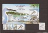 Vanuatu - pasari - 1314/18+bl.59, Natura