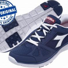 Adidasi barbat Diadora Hawk 3 - adidasi originali - running - adidasi alergare - Adidasi barbati Diadora, Marime: 40.5, 41, 43, 44, 45, 46, Culoare: Indigo, Textil
