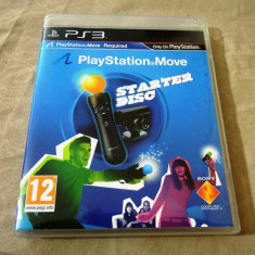 Joc Move Starter Disc, PS3, original, alte sute de jocuri! - Jocuri PS3 Sony, Simulatoare, 12+, Single player
