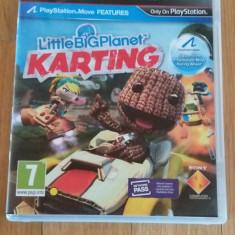 JOC PS3 LITTLE BIG PLANET KARTING ORIGINAL / by WADDER - Jocuri PS3 Sony, Curse auto-moto, 3+, Multiplayer