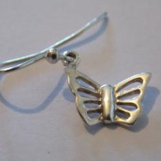 Cercei argint fluturi - 396
