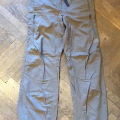 Pantaloni dama ADIDAS Climalite, Marime: Alta, Culoare: Gri, Lungi