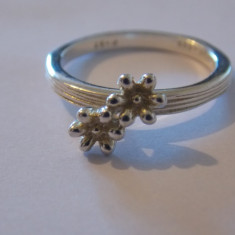 Inel argint floricele - 481