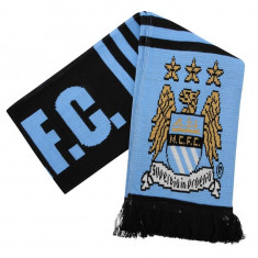Esarfa Fular Team Manchester City original - produs oficial - Esarfa Barbati