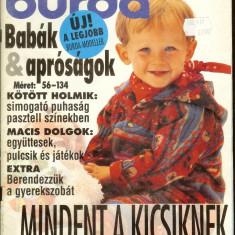 Revista mode BURDA SPECIAL, pentru copii, lb. maghiara, cu tipare