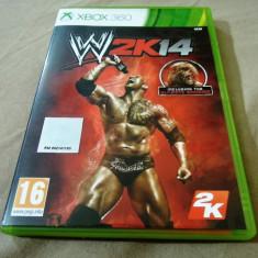 Joc WWE 2k14, XBOX360, original, alte sute de jocuri! - Jocuri Xbox 360, Sporturi, 16+, Multiplayer
