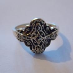 Inel argint marcasite - 215