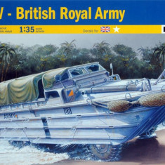 + Kit scara 1/35 Italeri 6466 - DUKW British Royal Army + - Macheta auto