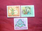 Serie- Craciun 1974 Noua Zeelanda , 3 val., Nestampilat