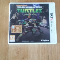 JOC NINTENDO 3DS NICKELODEON TEENAGE MUTANT NINJA TURTLES ORIGINAL / by WADDER - Jocuri Nintendo 3DS, Arcade, 12+, Single player