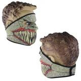 CAGULA masca pentru MOTOR BICIBLETA SKI PAINTBALL AIRSOFT din NEOPREN cu colti