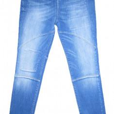 (TUR LASAT) DENIM CULTURE - (MARIME: 32) - Talie = 85 CM, Lungime = 110 CM - Blugi barbati, Culoare: Albastru, Prespalat, Skinny