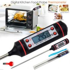Termometru digital alimentar bucatarie BBQ lichide bucatar culinar TUB PLASTIC - Termometru bucatarie