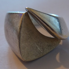 Inel argint model masiv - 221
