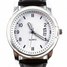 Ceas de mana IC Strap-Super model- cel mai mic pret - Ceas barbatesc, Fashion, Quartz, Inox, Piele - imitatie, Analog